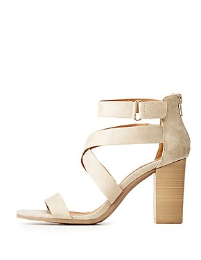 Qupid Strappy Open Toe Sandals