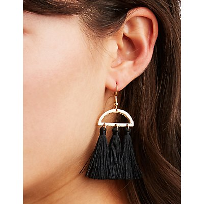 Fringe Tassel Earrings - 3 Pack