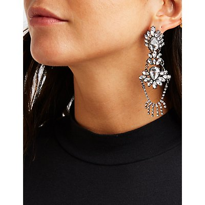Bejeweled Chandelier Earrings