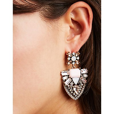 Stud & Drop Earrings - 3 Pack