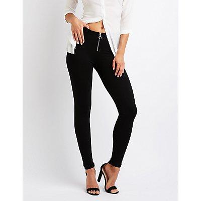 Zip Up Leggings