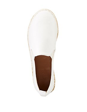 Espadrille Slip-On Sneakers