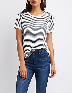 Striped Ringer Tee Shirt