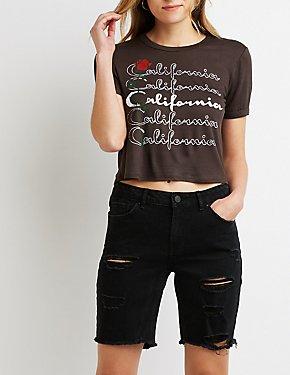 California Graphic Tee Shirt