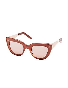 Retro Cateye Sunglasses