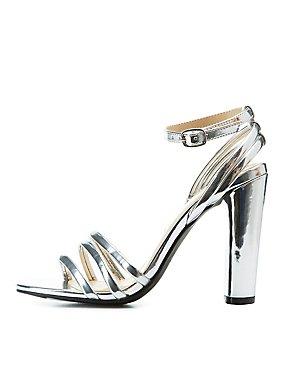 017af8b18e2a Ankle Wrap Block Heel Sandals