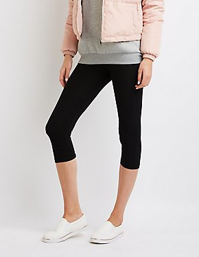 Mid-Rise Cropped Leggings