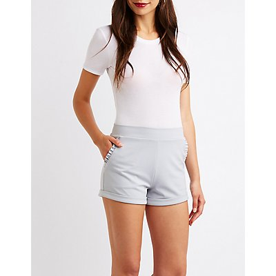 Ruffle Trim Shorts