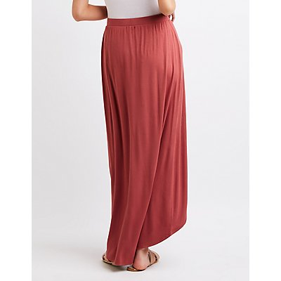 Layered Maxi Skirt
