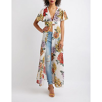 Floral Longline Tunic