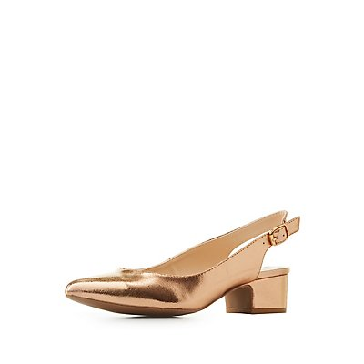 Qupid Pointed Toe Heels