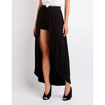 Layered Maxi Shorts