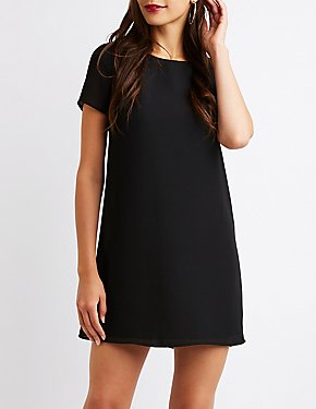 Caged Shift Dress