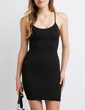 Twist Back Bodycon Dress