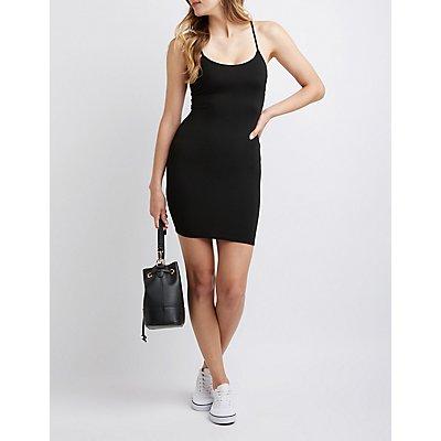 Twist Back Bodycon Dress