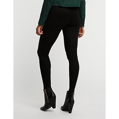 Stretchy Hi Waist Leggings