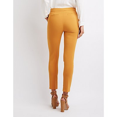 Ruffle-Trim Trousers