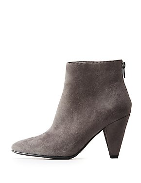 Pointed Toe Booties