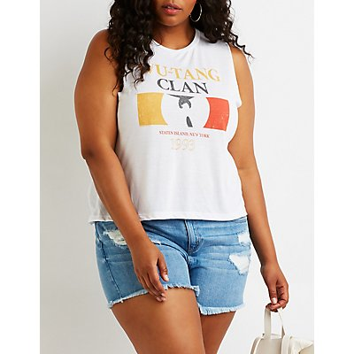 Plus Size Wu Tang Clan Tank Top