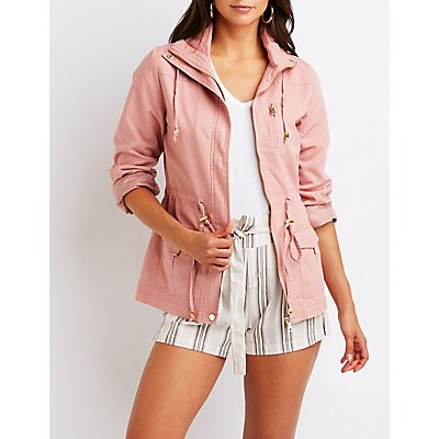 Cinched Anorak Jacket