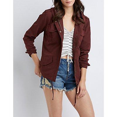 Hooded Anorak Jacket