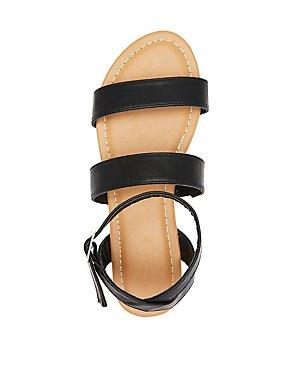 Ankle Wrap Flat Sandals