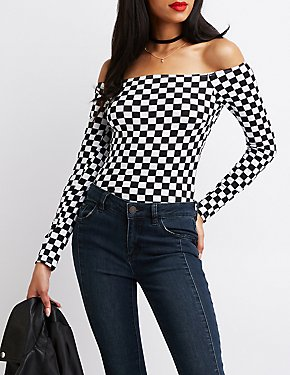 Off-The-Shoulder Bodysuit