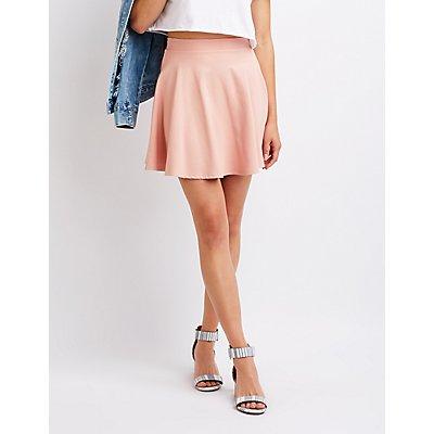 Ponte Knit Skater Skirt