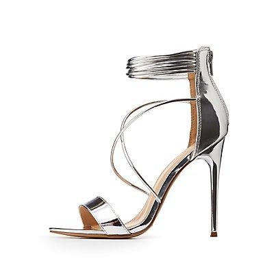 Crosscross Ankle Strap Sandals