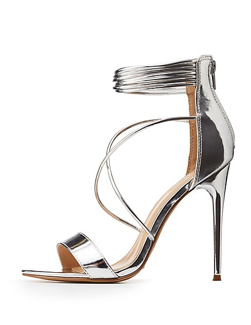Crosscross Ankle Strap Sandals