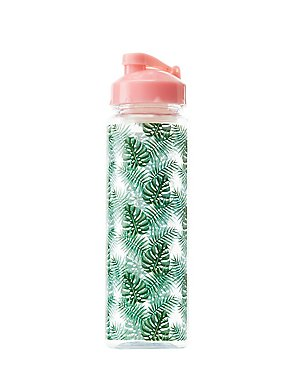 Palm Leaf Water Bottle