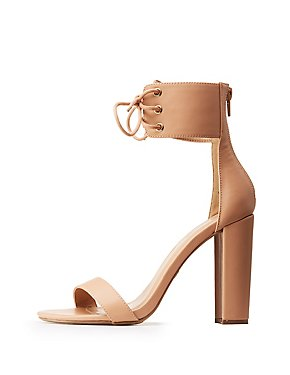 Lace Up Ankle Cuff Sandals