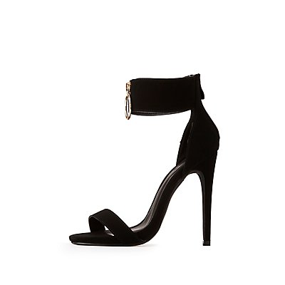 O-Ring Ankle Cuff Sandals