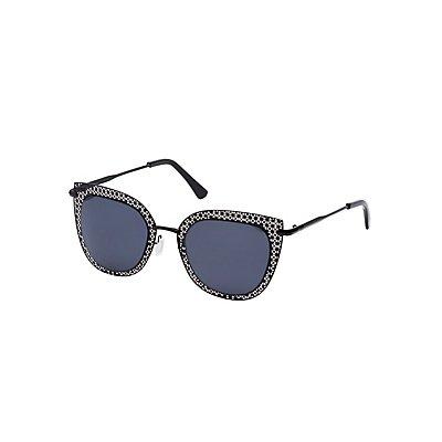 Laser Cut Cateye Sunglasses