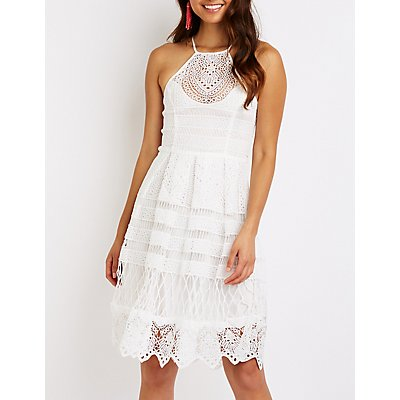 Crochet Midi Dress