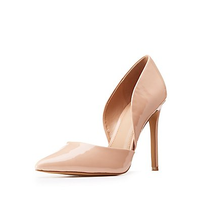 Patent Leather D'Orsay Pumps