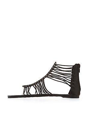 Strappy Flat Sandals