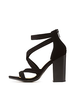 ba6163740eae Strappy Caged Sandals