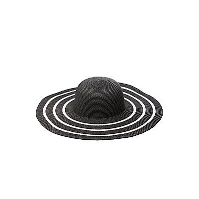 Oversize Straw Hat