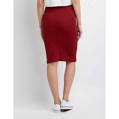 Bodycon Pencil Skirt