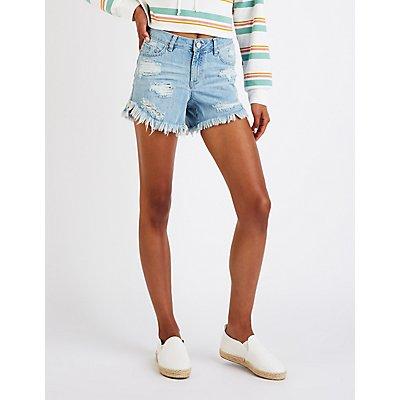 Refuge Destroyed Girlfriend Shorts