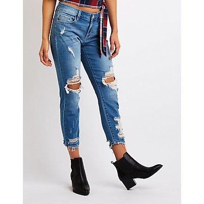 Refuge Crop Boyfriend Jeans