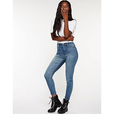 Refuge Hi Rise Skinny Jeans