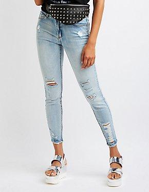 Refuge Mid Rise Skinny Jeans