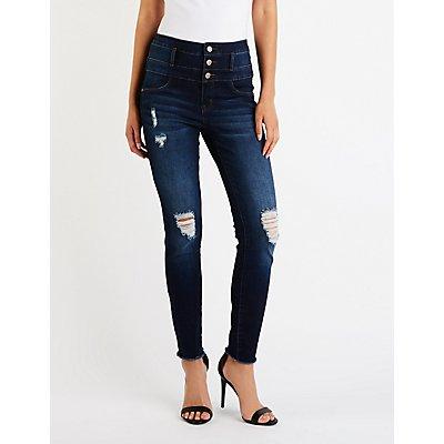 Refuge Hi Waist Skinny Jeans