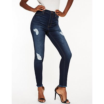 Refuge High Rise Skinny Jeans