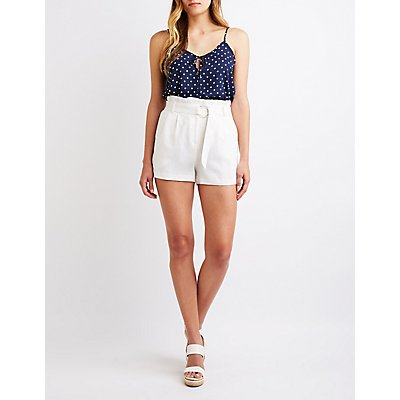 O-Ring Paperbag Shorts