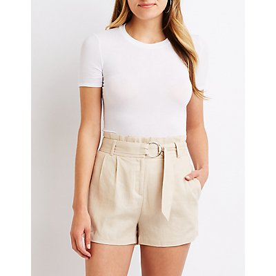O-Ring Paperbag Shorts