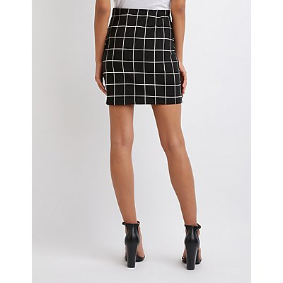 Window Pane Skirt