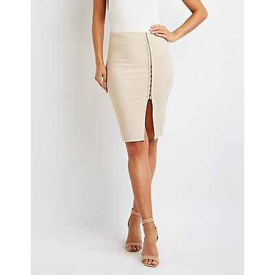 Bodycon Midi Skirt